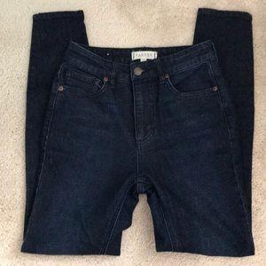 Harper Heritage skinny dark wash jeans